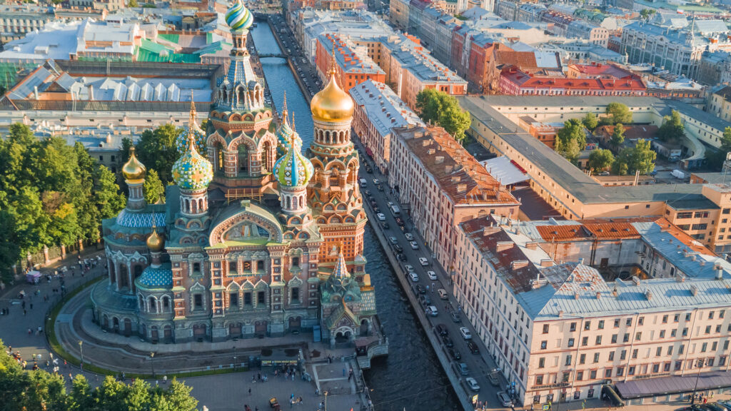 Sightseeing Tour of St.Petersburg