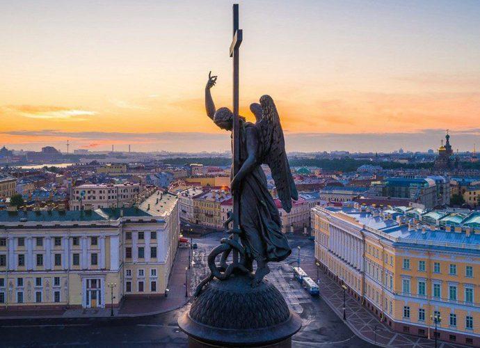 петербург дворцовая площадь