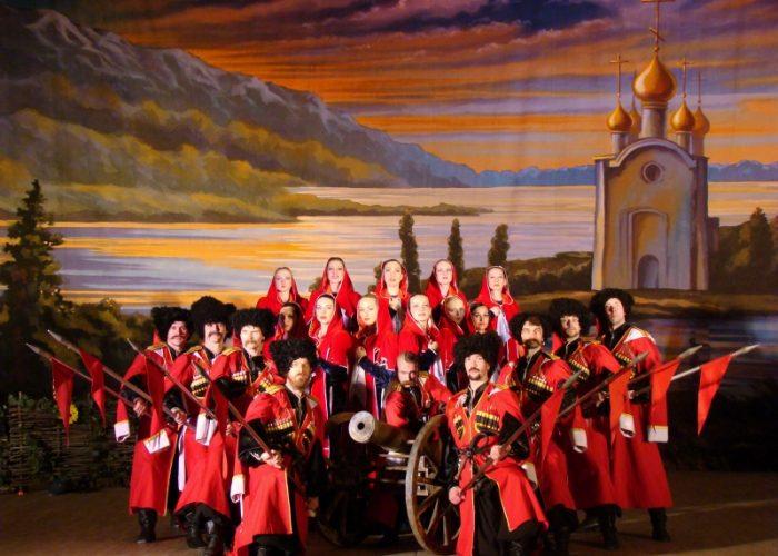 Russian Cossack show